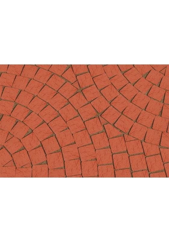 Mozaika klinkerio trinkelės Janka, Lode