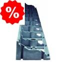 Plastikiniai bortai Eko-bord UNI, 45 mm
