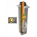 TONAtec ISO 1-kanalo su ventiliacija keramikiniai kaminai