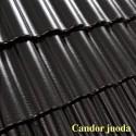 Benders betoninės čerpės Palema Candor blizgi