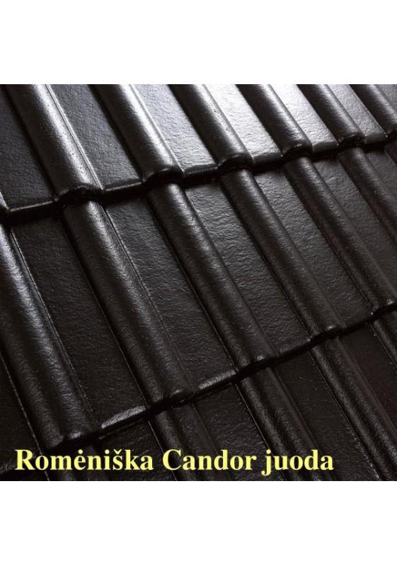 Benders betoninės čerpės Romėniška Candor blizgi