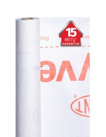 Vėjo izoliacinė plėvelė Tyvek® Housewrap, 60 g/m², 150 m²