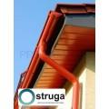 STRUGA 125/90 plieninė lietaus nuvedimo sistema