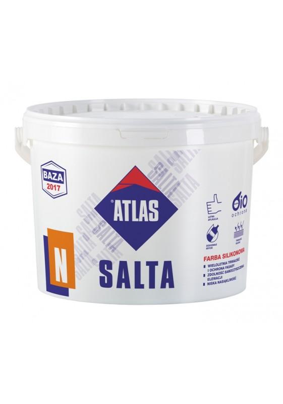 ATLAS SALTA N - silikoniniai fasado dažai