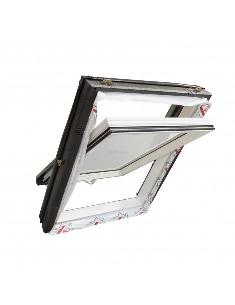 Roto Designo R4 - PVC centrinės ašies stoglangis