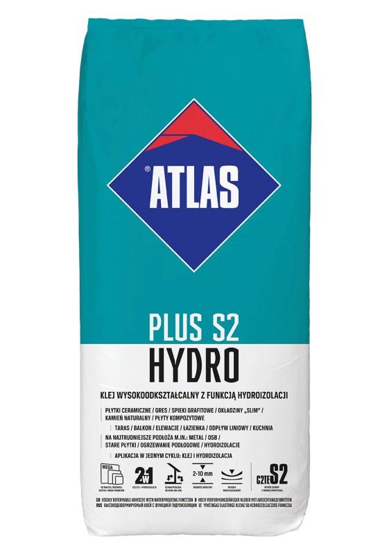 ATLAS PLUS S2 HYDRO - ypatingai elastingi klijai su hidroizoliacijos funkcija