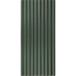 Žalios spalvos, bituminis banguotas lakštas Corrubit, 930x2000 mm