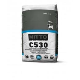 MITTO C530 KLIJAI SILIKATINIAMS IR AKYTO BETONO BLOKELIAMS DARBUI ŽEMOSE IR NEIGIAMOSE TEMPERATŪROSE, 25 kg