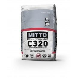 MITTO C320 YPAČ ELASTINGI BALTI PLYTELIŲ KLIJAI, C2TES1, 25 kg