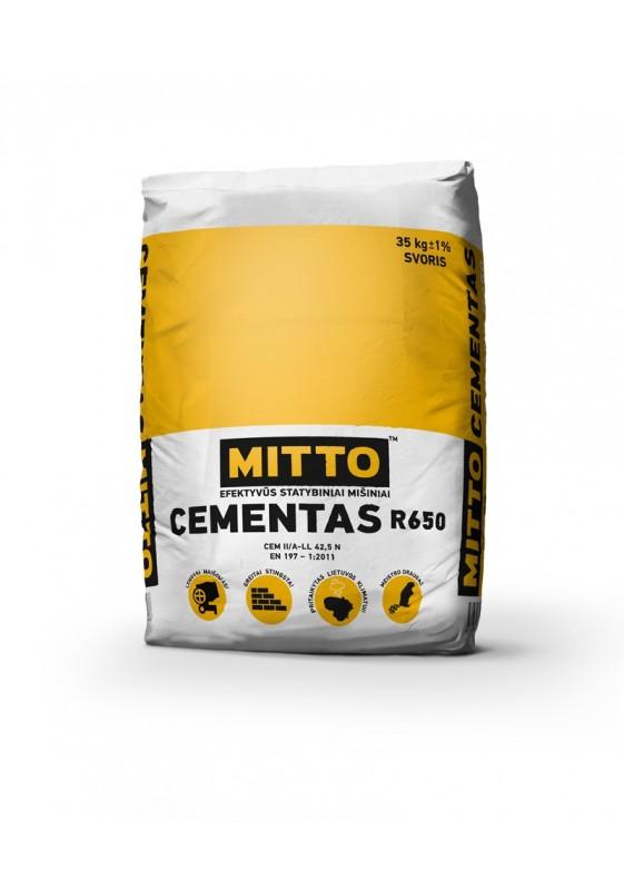 CEMENTAS R650, 35 kg, MITTO