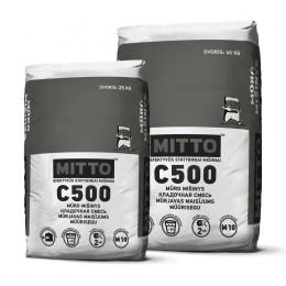 C500 MŪRO MIŠINYS, 25 kg, MITTO