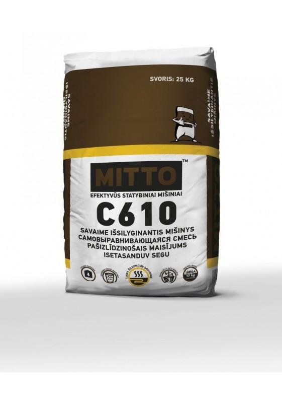 C610 SAVAIME IŠSILYGINANTIS MIŠINYS, 25 kg, MITTO