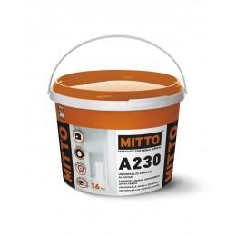 A230 UNIVERSALUS AKRILINIS GLAISTAS, 16 kg, MITTO