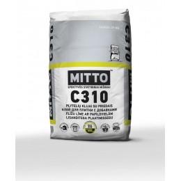 C310 PLYTELIŲ KLIJAI SU PRIEDAIS, 25 kg, MITTO