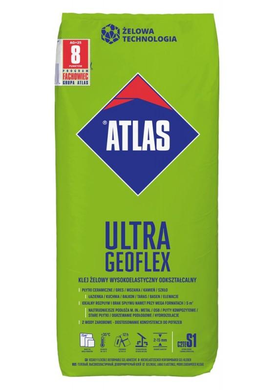 ATLAS ULTRA GEOFLEX - ypač elastingi geliniai klijai 2–15 mm, 25 kg