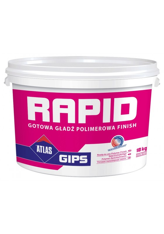 ATLAS RAPID, 28 kg, polimerinis glaistas