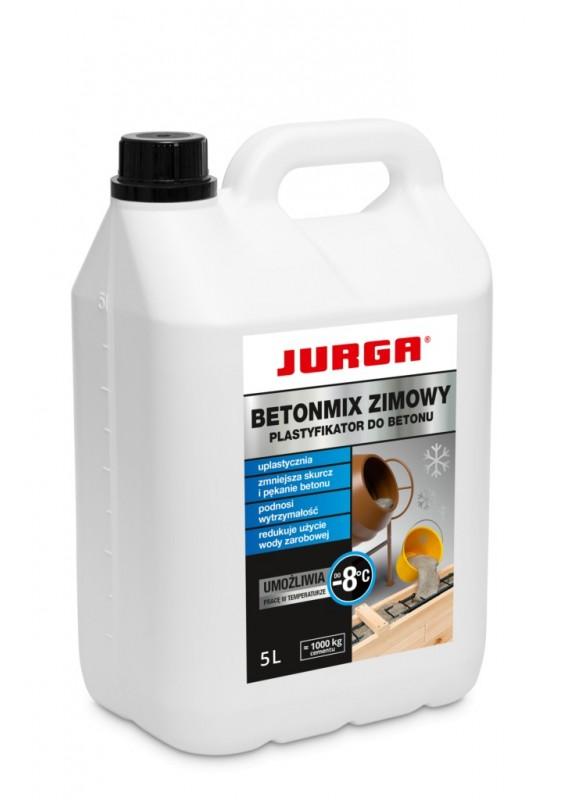 BETONMIX ŽIEMINIS PLASTIFIKATORIUS -8°C, JURGA