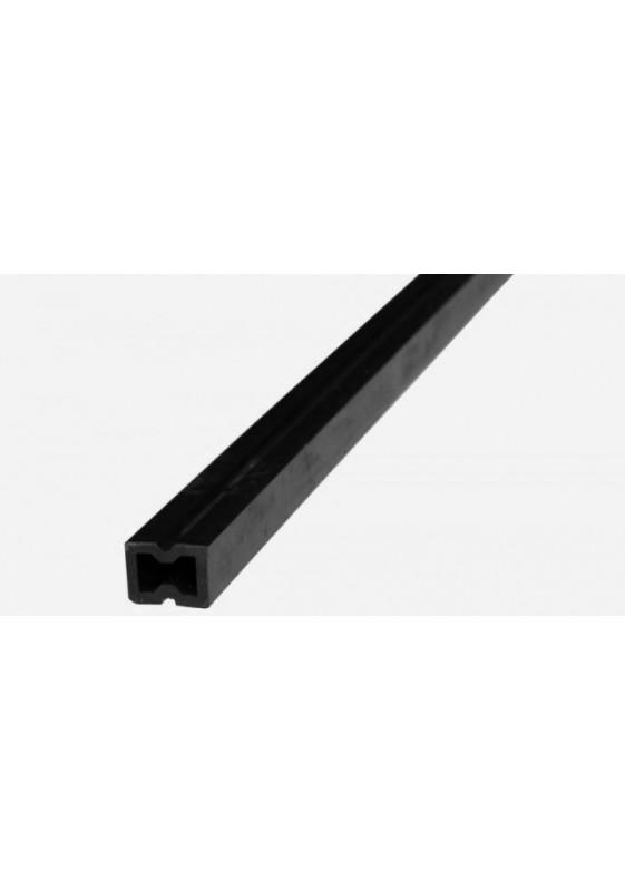 WPC skersinė sija tamsiai pilkos spalvos, 50x50x2300 mm