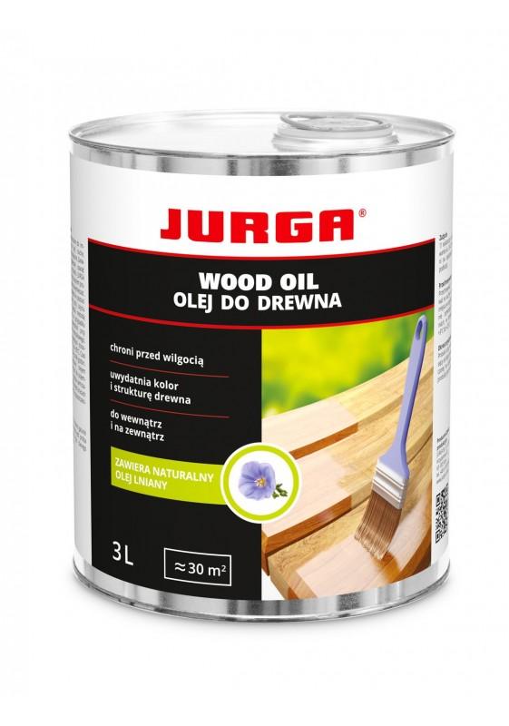 WOOD OIL alyva medienai, JURGA