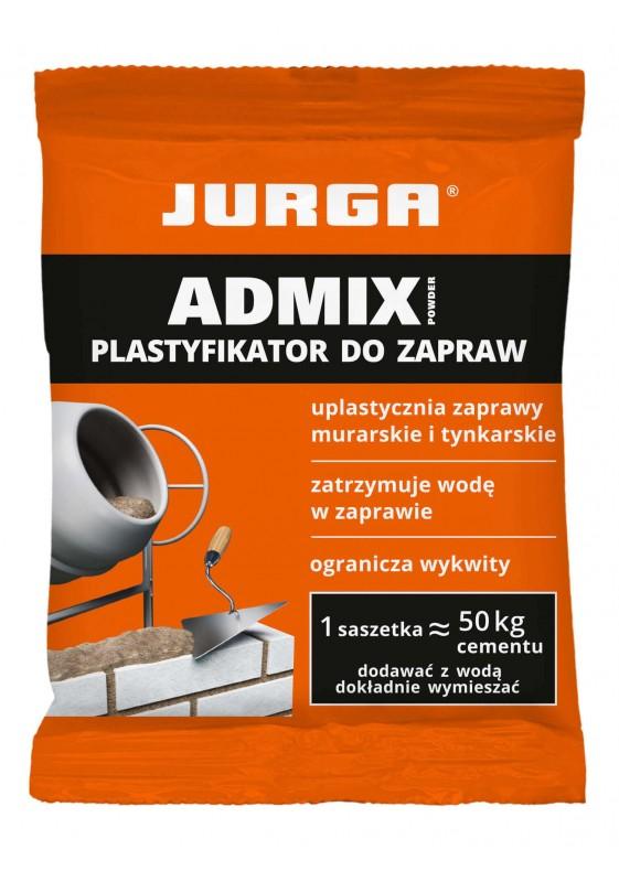 ADMIX POWDER plastifikatorius mūro ir tinko mišiniams, JURGA