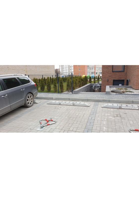 Parkavimo bortelis - ratų atmušėjas Spikma Mittstod