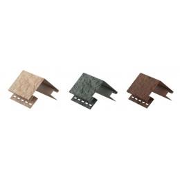 STONE-HOUSE AKMUO išorinio kampo profilis vinilinėms dailylentėms, U-PLAST, 3 spalvos