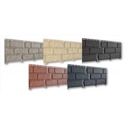 STONE-HOUSE PLYTA vinilinės dailylentės, U-PLAST, 5 spalvos