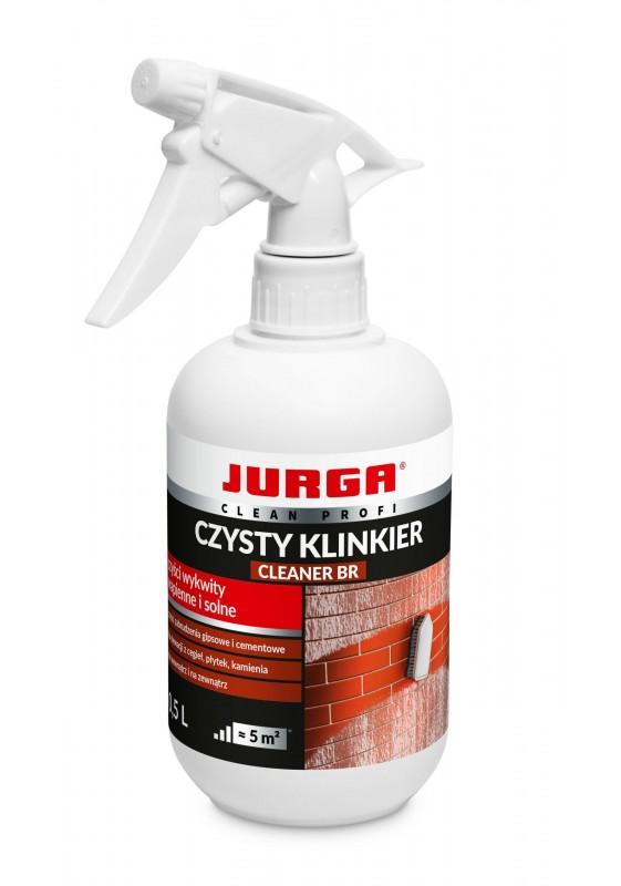 CLEANER BR Plytelių valiklis nuo kalkinių ir cementinių apnašų, JURGA