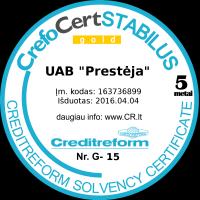 CrefoCertSTABILUS gold