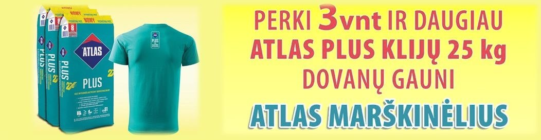 Atlas Plus Nowy - plytelių klijai